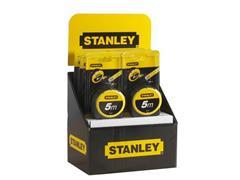 STANLEY Rolbandmaat Geel/zwart