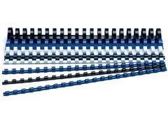 Staples Bindrug 21 rings 12 mm, 95 vel, blauw (pak 100 stuks)