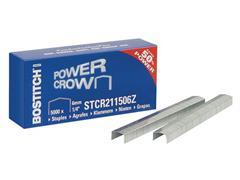 Bostitch Speciale nieten Bostitch 11/6, o.a. geschikt voor B8/P4-12/T-5-12/002245 (doos 5000 stuks)