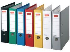 Staples Ordner, A4, Rugbreedte 50 mm, Karton, Blauw