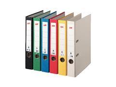 Staples Ordner, A4, Rugbreedte 50 mm, Karton, Zwart