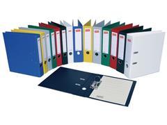 Staples Premium Ordner, A4, Rugbreedte 50 mm, Karton met Polypropyleen, Zwart
