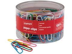 Staples Paperclips assortiment Jumbo (pak 200 stuks)