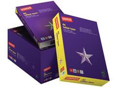 Staples Colour Laser Papier, A4, 100 g/m², Wit (doos 5 x 500 vel)