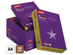 Staples Colour Laser Papier, A4, 160 g/m², Wit (pak 250 vel)
