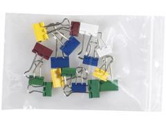 Staples Gripsluitingzakjes polyethyleen hersluitbaar transparant 100 x 150 mm verpakking van 100 (pak 100 stuks)