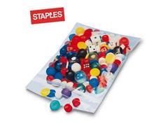 Staples Gripsluitingzakjes polyethyleen hersluitbaar transparant 230 x 320 mm verpakking van 100 (pak 100 stuks)
