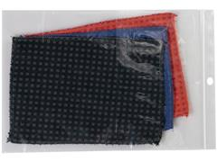 Staples Gripsluitingzakjes polyethyleen, hersluitbaar, transparant, 270 x 380 mm (pak 100 stuks)