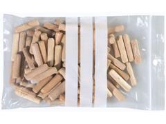 Staples Gripsluitingzakjes polyethyleen beschrijfbaar hersluitbaar transparant 120 x 180 mm verpakking van 100 (pak 100 stuks)