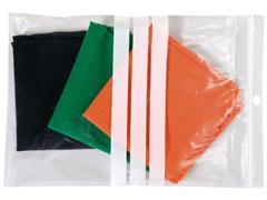 Staples Gripsluitingzakjes polyethyleen beschrijfbaar hersluitbaar transparant 230 x 320 mm verpakking van 100 (pak 100 stuks)
