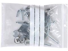 Staples Gripsluitingzakjes polyethyleen, beschrijfbaar hersluitbaar, transparant, 160 x 220 mm (pak 100 stuks)
