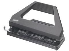 Staples Perforator verstelbaar 30 vel, 4-gaats, zwart