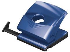 Staples Perforator, perforator met 2 gaatjes, transparant, blauw