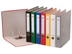 Staples Ordner, A4, Rugbreedte 50 mm, Karton met Polypropyleen, Groen