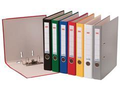 Staples Ordner, A4, Rugbreedte 50 mm, Karton met Polypropyleen, Rood