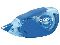 Staples OOPS! Midway Correctieroller 5 mm x 8 m, Blauw en grijs (pak 2 stuks)