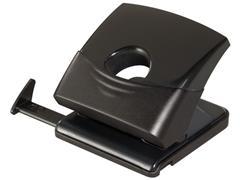 Staples Perforator, 2-gaats perforator, transparant, zwart
