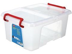 Staples Opbergboxen 12 liter, l 385 x b 295 x h 180mm (doos 5 stuks)