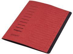 Staples Sorteermap elasto 7 vakken, rood
