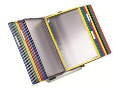 tarifold Bureaustandaard incl. 20 tassen Lichtgrijs 20 showtassen