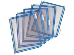 tarifold Zichtpaneel A4, Plastic, Blauw (doos 10 stuks)