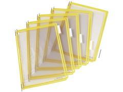 tarifold Zichtpaneel A4, Plastic, Geel (doos 10 stuks)