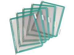 tarifold Zichtpaneel A4, Plastic, Groen (doos 10 stuks)