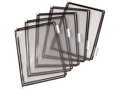 tarifold Zichtpaneel A4, Plastic, Zwart (pak 10 stuks)