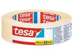 tesa® Schilderstape, 30 mm x 50 m, Wit (pak 10 x 50 meter)