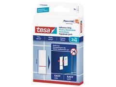 tesa® Powerstrips® navulverpakking voor kleefspijkers voor tegels en metaal, 2 kg, wit (pak 9 stuks)