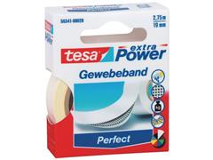 tesa® Klussentape Extra Power 19 mm x 2,75 m, wit (rol 2.75 meter)