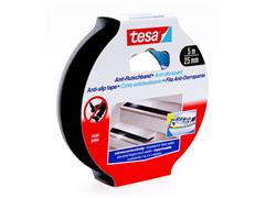 tesa® Antislip Tape, 25 mm, Zwart (rol 5 meter)