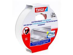 tesa® Antislip Tape, 25 mm, Transparant (rol 5 meter)