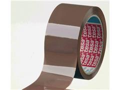 tesa® Verpakkingstape PP 50mm x 66 m, bruin (pak 6 x 66 meter)