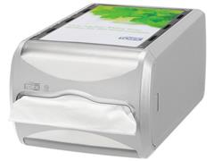 Tork Xpressnap Counter Servetdispenser, 145 x 191 x 307 mm, Plastic, Grijs