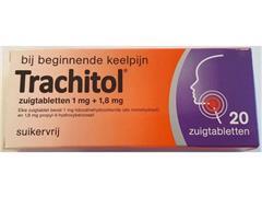 Trachitol, Zuigtabletten (pak 20 stuks)