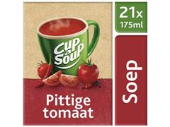 Unox Cup-a-Soup Pittige Tomaat, Soep, 175 ml (doos 21 stuks)