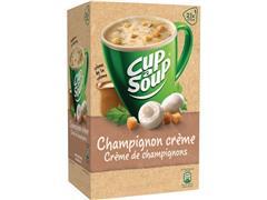 Unox Cup-a-Soup Champignon Crème, Soep, 175 ml (pak 21 stuks)