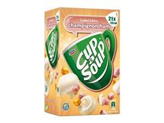 Unox Cup-a-Soup Champignon Ham, Soep, 175 ml (pak 21 stuks)