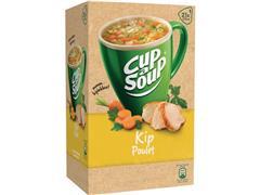 Unox Cup-a-Soup Kip, Soep, 175 ml (pak 21 stuks)