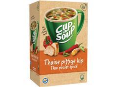 Unox Cup-a-Soup Thaise Pittige Kip, Soep, 175 ml (doos 21 stuks)