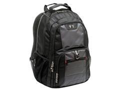 Wenger Pillar laptoprugzak 16 inch, polyester, gevoerd, zwart/grijs