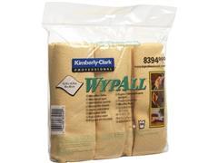 Wypall* Microvezeldoeken geel, sanitair (pak 6 stuks)