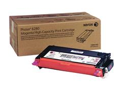 Xerox Phaser 6280 Toner, Single Pack, Magenta