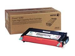 Xerox Phaser 6280 Toner, Single Pack, Cyaan