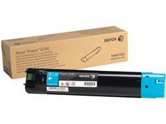 Xerox Phaser 6700 Toner, Single Pack, Cyaan