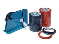 Zakkensluitdispenser voor 9 - 12 mm tape