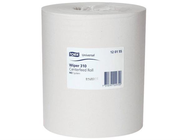 Tork Wiper multirol 20 cm x 300 m voor mididispenser 1 laags, Universal (pak 6 rollen)