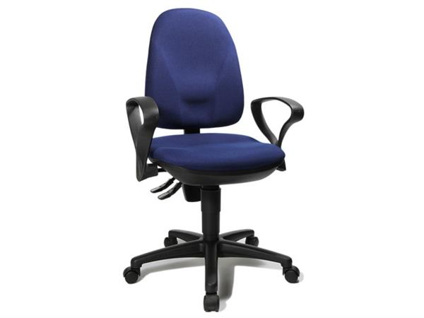 TOPSTAR Point 45 Bureaustoel met armleuning, Blauw