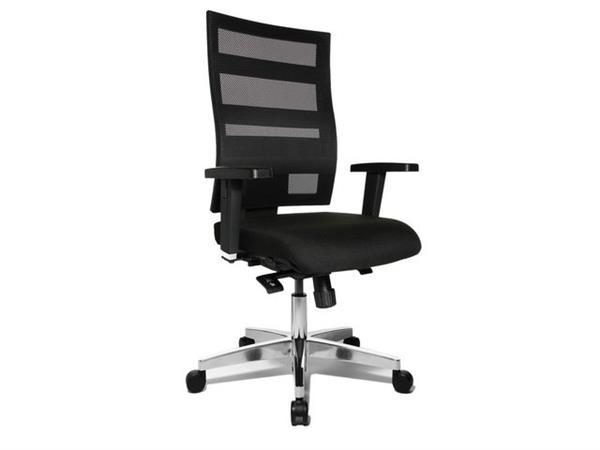 TOPSTAR X-Pander Big Deluxe Bureaustoel, Zwart